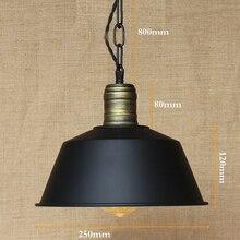 Colgando de Hardware Iluminación luces Loft Industrial retro metal shade lámpara colgante iluminación De la Cocina/barra de luces de café