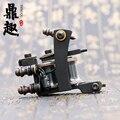 Black Tattoo Machines 10 Wrap Coils Liner Tattoo Machine Gun Assorted Tattoos Gun New Design Tattoo Machine Supply TM462