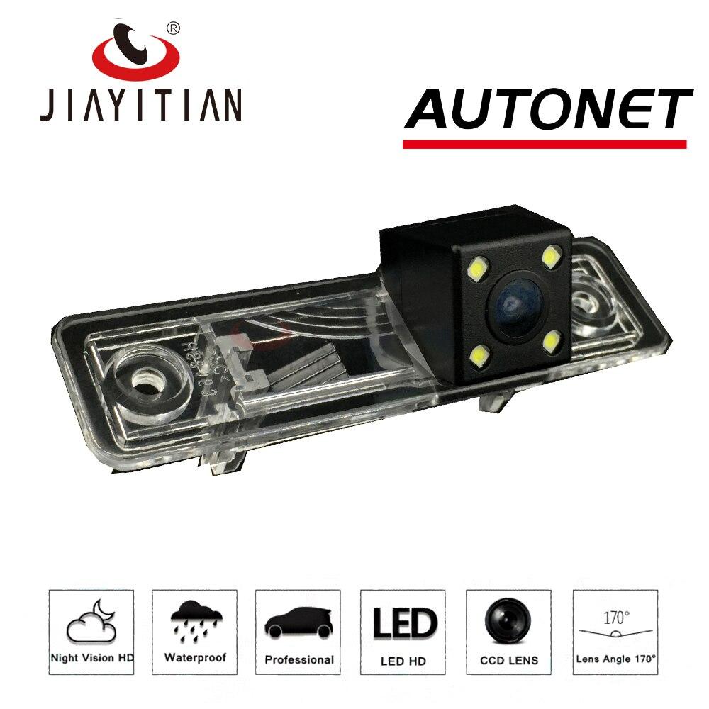 JiaYiTian rear view camera For Daewoo Lacetti Nubira J200 MK1 2002 2008 4LEDS Night Vision Reverse