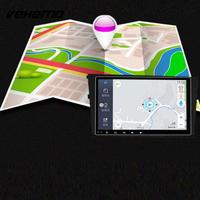 2 Din Quad Core Car GPS Navigator Premium Car GPS MP5 Player 4K Video Player Bluetooth Portable WIFI