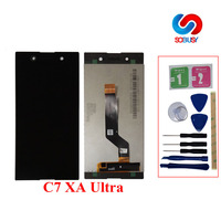 DIsassenble For 6.0'' Sony Xperia XA1 Ultra lcd Display Touch Screen Digitizer For SONY Xperia C7 XA1 Ultra LCD ecram Replace