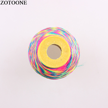 ZOTOONE 500D Multi Option Handmade Stitch Knitting Thread Craft Polyester Embroidery For Cross Floss Sewing Skein