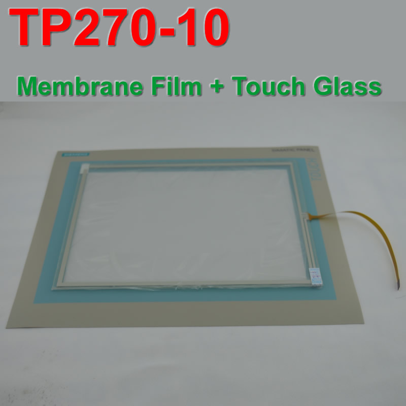 TP270-10 6AV6545-0CC10-0AX0 Touch Panel Glass + Protective Film For SIMATIC PANEL 6AV6 545-0CC10-0AX0 Repair,FAST SHIPPING