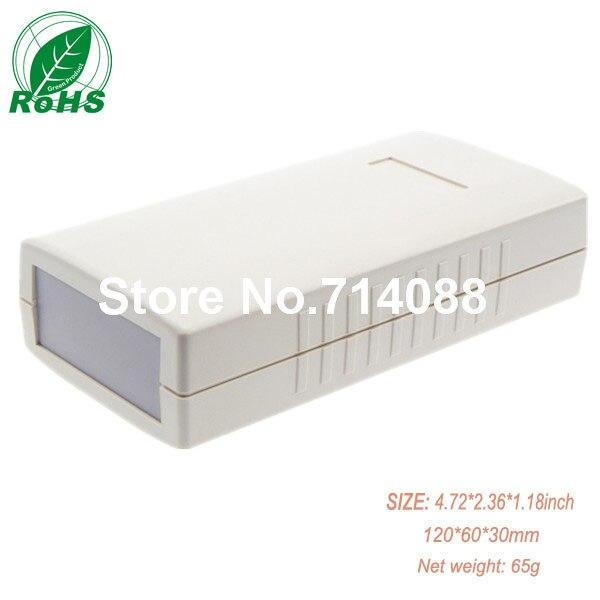 Waterproof hinged plastic box 120*60*30mm 4.72*2.36*1.18inch