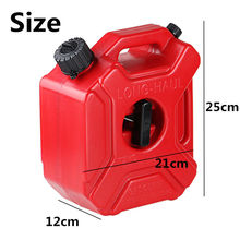 цена на 3 litre Fuel Tank Jerry Cans Spare Plastic Petrol Tanks Atv Jerrycan Mount Motorcycle Gas Can Gasoline Oil Container Fuel-jugs