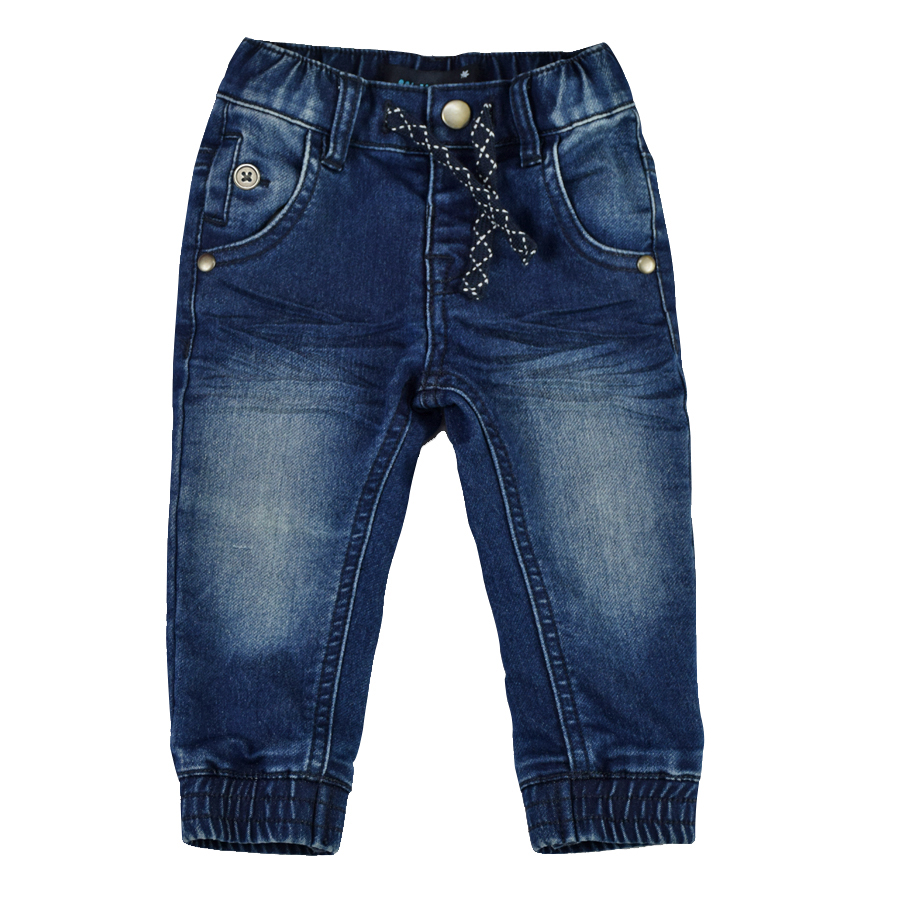 Infant Baby Boy&Girl Denim Jeans Pants Newborn Bebe Soft Harem Pants Toddler Kid Stretch Jeans Solid Trousers Children Clothing