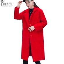 2018 Boutique mode Gestrickte Nerz Kaschmir Mantel Frauen Lose Stricken  Strickjacke Pullover mäntel Weibliche Winter Schlanke La. e12287341e