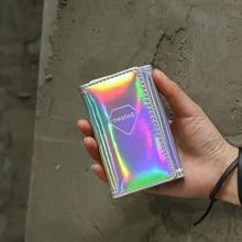 Bentoy Brand Leather Women Purse Trunk Organizer Key Holder Wallet Hologram Laser Card Holders Small Pocket Bags Key Case