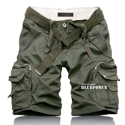 2015 summer New Fashion mens cargo shorts casual shorts ...