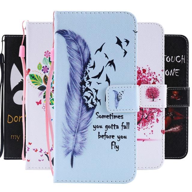 J4 Plus Case on For Samsung Galaxy J4 Plus Case Flip Leather Wallet Magnet Cases For Coque Samsung J4 Plus 2018 J415F Case Cover