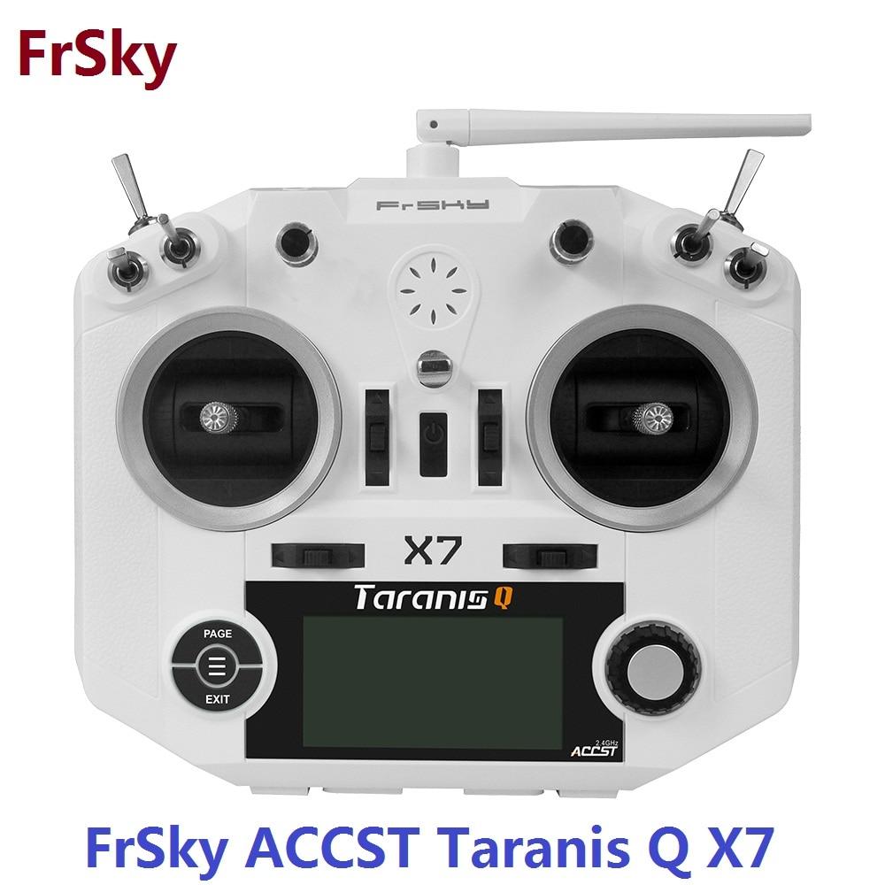 FrSky ACCST Taranis Q X7 QX7 2.4 ghz 16CH Émetteur Sans Récepteur et batterie Mode 2 Pour RC Multicopter