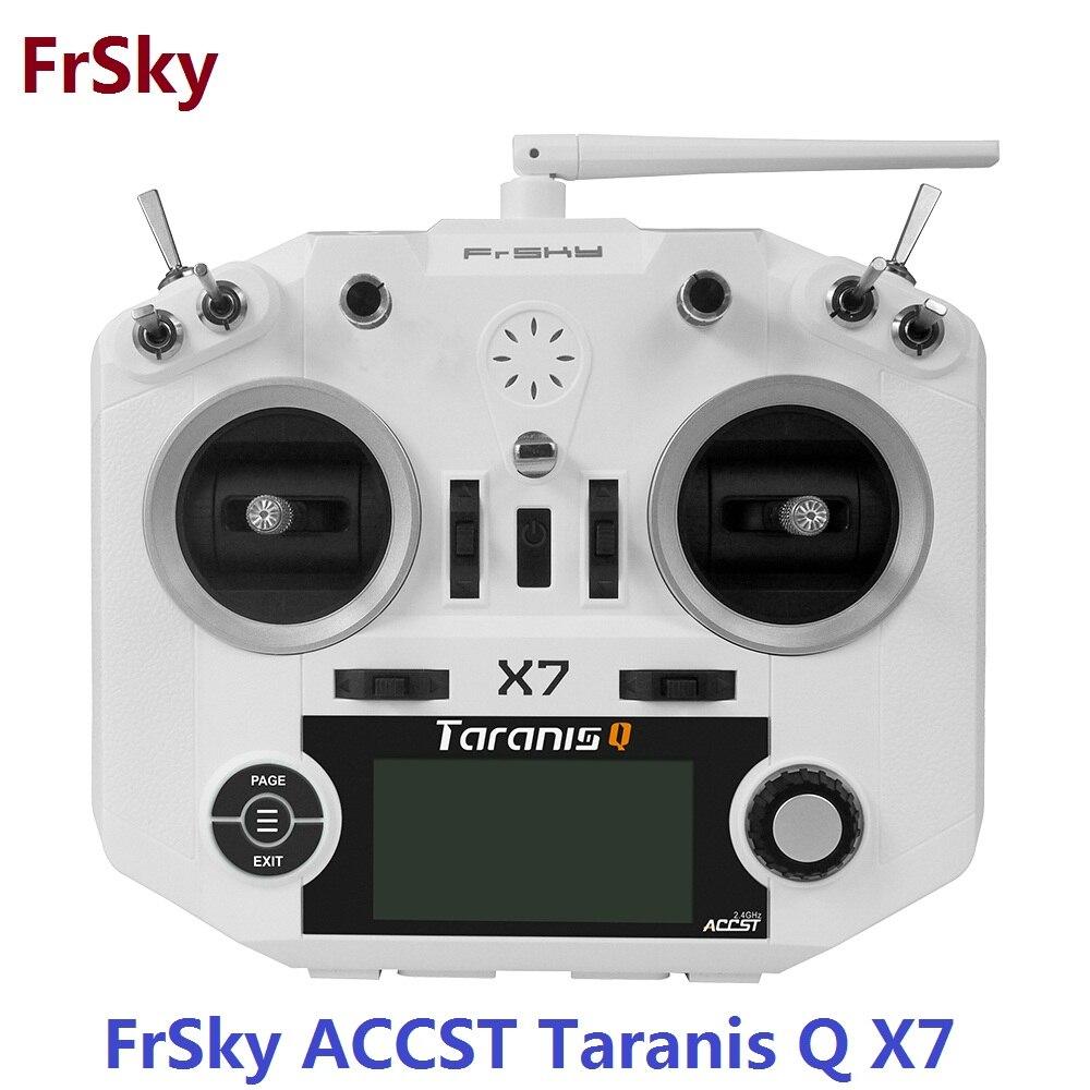 FrSky ACCST Taranis Q X7 QX7 2.4 ghz 16CH Modalità Trasmettitore Senza Ricevitore e la batteria 2 Per RC Multicopter