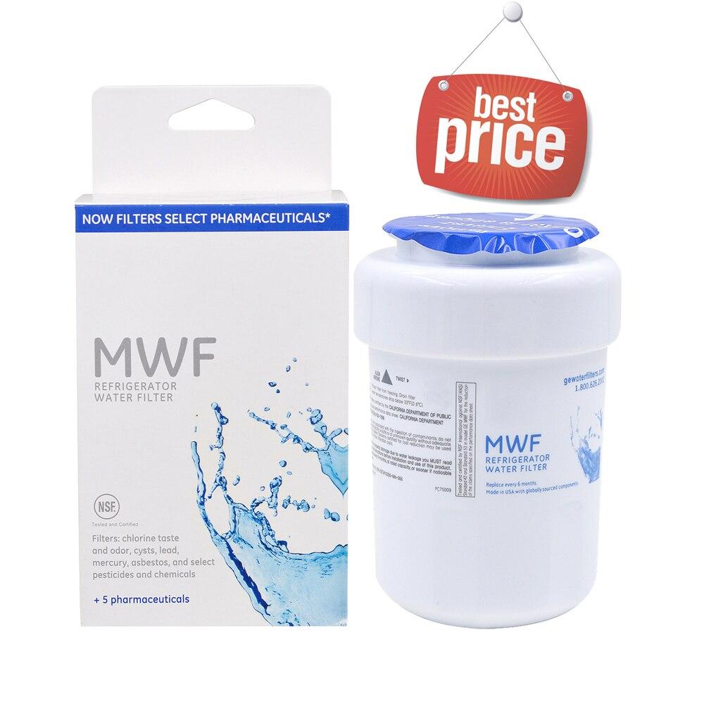 Бытовые Best фильтр для воды General Electric mwf минералки фильтр для воды, холодильник замена картриджа для GE mwf цельнокроеное платье