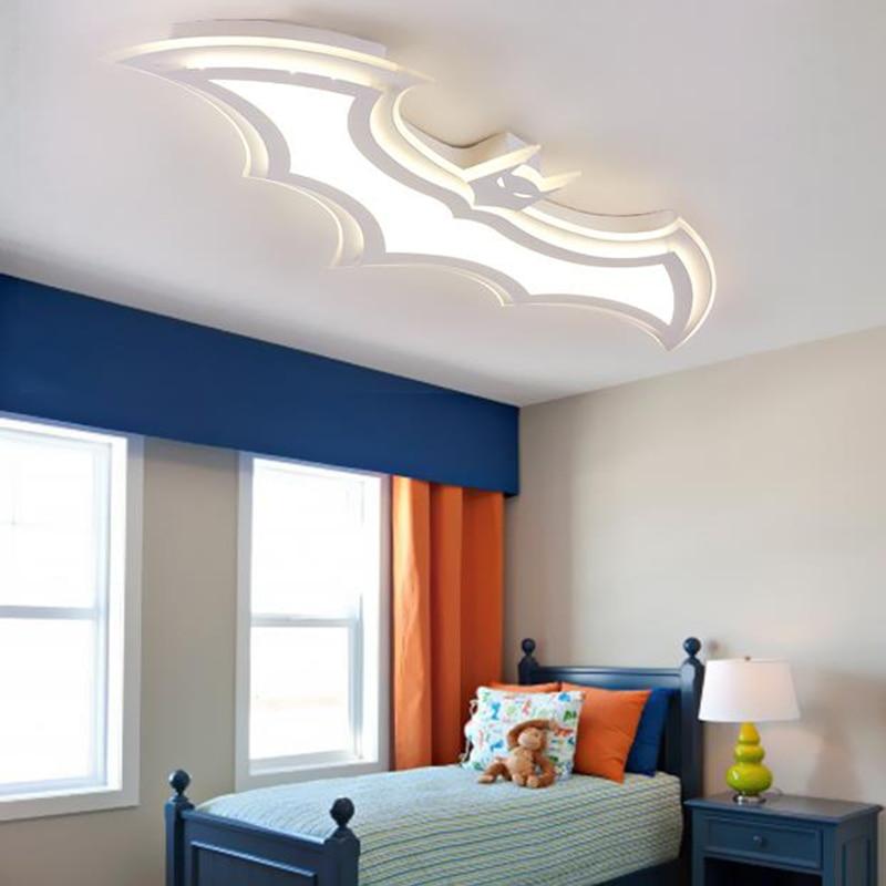modern led acrylic ceiling lights creative batman style