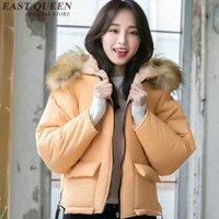 Зимняя куртка для женщин меховой воротник женщин пуховая куртка зимний розовый цвет зимняя куртка женские 2017 kk1870 h