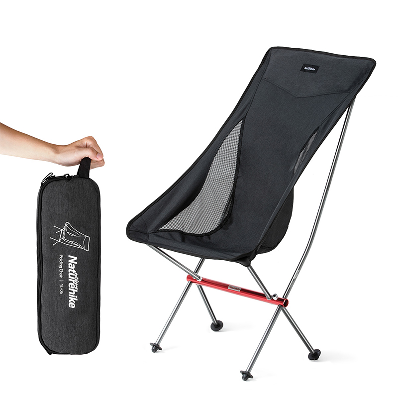 Naturehike Portable Ultralight Camping Chair Outdoor Folding Fishing Chair Alluminum alloy Beach Picnic Chair NH18Y060 Z