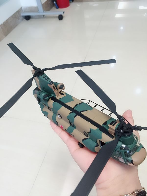 FOV 1/72 Scale Military Model Toys JSDF CH-47J Chinook Helicopter Diecast Metal Plane Model Toy For Collection/Gift/Kids fov print 84208 us apache longbow helicopter gunships 1 48 alloy model fm