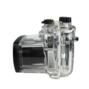 Image 3 - For Canon G11 G12 Camera Waterproof Housing PC Plastic Case Transparent Cover Diving Depth Rating 40m Control Camera Functions