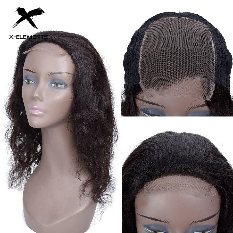 X Elements Brazilian Lace Front Human Hair Wigs Body Wave Human Hair Wigs Lace Front With