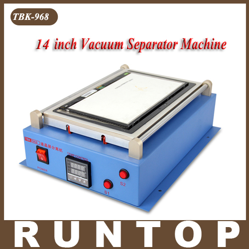 newest 7 inch lcd separating tbk 988 with built in vacuum pump touch screen separator machine for mobile phone repairing TBK-968 14inch Big Size LCD separator Machine Built-in Pump Vacuum  Screen Separating Tool