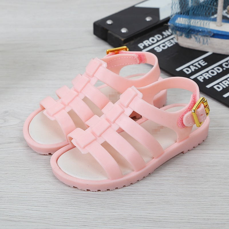 Melissa 2018 New Children Shoes Sandals for Girls Casual Sandals Slip Wear-resistant Children Melissa Beach Sandals