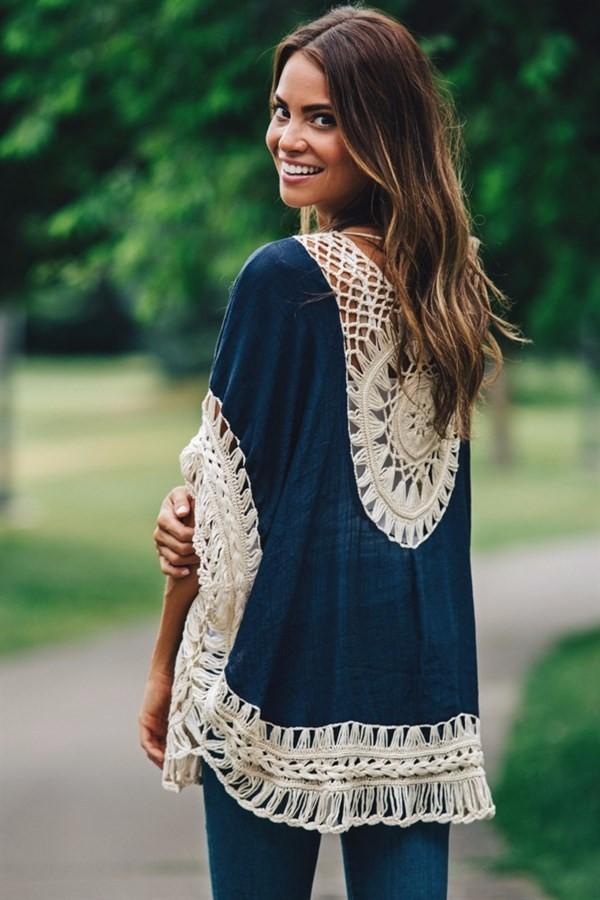 Quality Crochet Bikini Cover-ups Hollow Out Women Handmade Beachwear Bohemia Robe Cover up One-piece Flax Vacation Smock 8