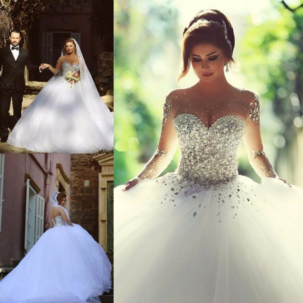 990cba554 Moda de novia sin espalda vestidos boda vendimia 2015 vestido de novia  vestido de bola vestidos de noiva en Vestidos de novia de Bodas y eventos  en ...