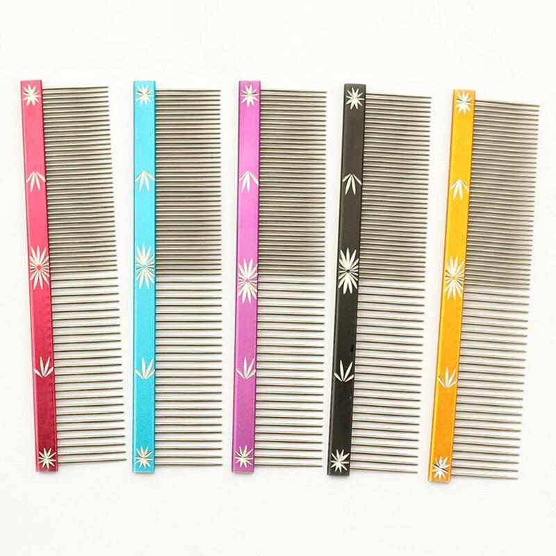 Armi store 6062004 Pet Dog Comb Snow Sculpture Design Grooming Comb For Dogs Salon 5 Color M L Wholesale