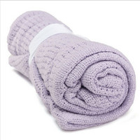 Aden Newborn Baby Blankets Super Soft Cotton Crochet Summer Candy Color Prop Crib Casual Sleeping Bed