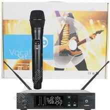 MICWL 96 канальный QLX сценическое пение Ручной Радио беспроводной микрофон системы QLXD4