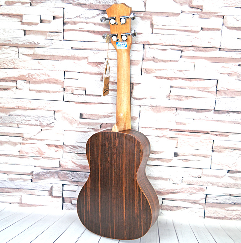 Closed knob high-end 23 inch Ukulele Rosewood Hawaiian 4 Strings Small Guitar Ukelele with Pickup Music strings Instruments suerte 23 inch ukulele mahogany guitare ukulele 4 strings guitar music instrument electric ukulele rosewood hawaiian 23 black