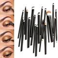 Pincel de Maquillaje profesional Set 20 Unids Negro Delineador de Cejas Sombra de ojos Lip Corrector Fundación Pinceles de Maquillaje Cepillo Conjunto Kit de Herramientas
