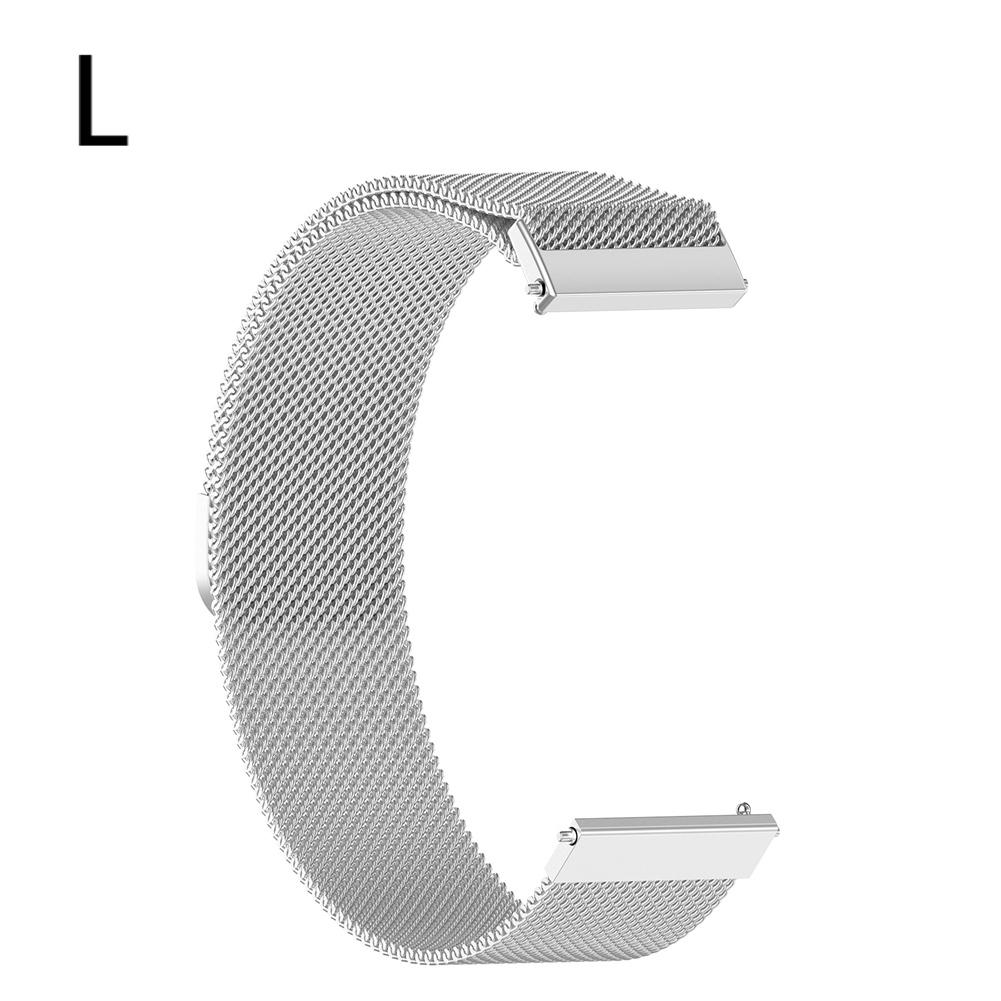 Image 3 - Magnetic Milanese Replacement Watch Band Stainless Steel  Wrist Strap Softness  Adjustable 18MM / 20MM For Tic Watch C2-in Smart Accessories from Consumer Electronics