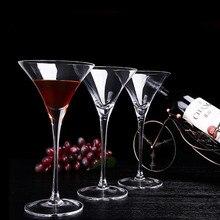 Бар Домашний Премиум Unlead Crystal 200 мл бокал для вина коктейльный треугольный Кубок 6 шт./компл