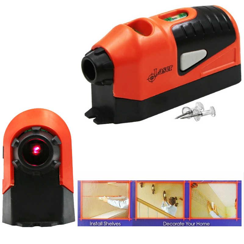 High Quality Laser Level Mini Vertical Spirit Level Tool Laser Guided Level Line Measurement Gauge Tools