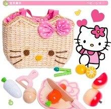 Cesta de frutas magnéticas Hello Kitty