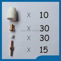 PT 31 Plasma Cutter Cutting Consumables KIT Fit CT 312 CUT 40 CUT 50 85PK Ar