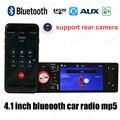 Поддержка камеры заднего вида 1din Bluetooth Автомобильный Радиоприемник MP5 Player 4 дюймов HD экран FM USB/SD AUX in/пульт дистанционного управления Стерео