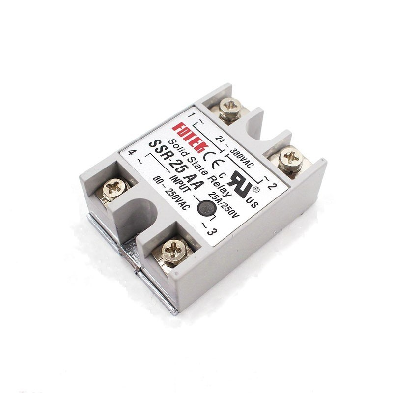 Solid State Relay 12v 24v SSR 10AA SSR 25AA SSR 40AA 10A 25A 40A 3 32V AC TO 24 380V AC SSR 10AA 25AA 40AA Rele Power Supply in Relays from Home Improvement