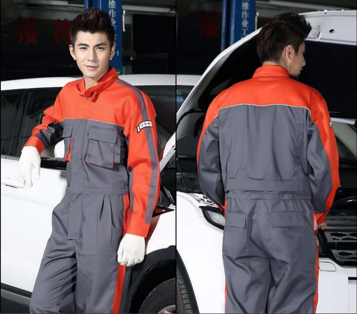 Auto repair work clothes/4s shop washing and repair work wear Spring tooling protective work clothing long-sleeved концентратор usb 3 0 jet a ja uh37 4 х usb 3 0 черный