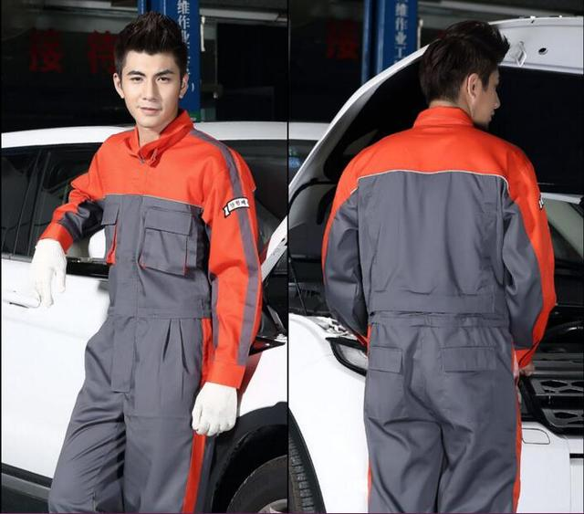 Auto repair work clothes/4s shop washing and repair work wear Spring tooling protective work clothing long-sleeved