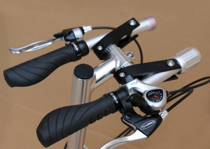 full aluminum alloy BMX folding handlebar 25.4mm one shaped bar for folding bike bicycle parts