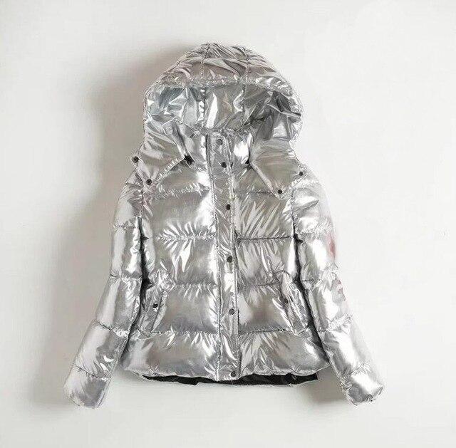 Winterjas Women.Aliexpress Com Buy Women Winter Jackets Short Warm Coat Silver
