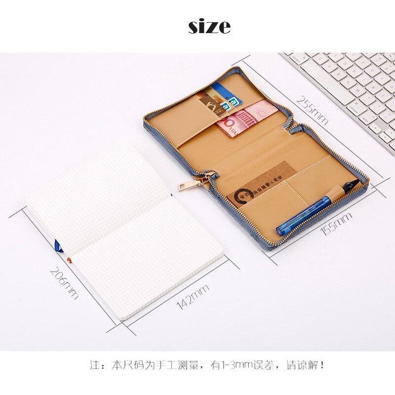 Dilosbu Zipper Bag A5 Doplněný plánovač Mesačný Týdenní 2018 - Bloky a záznamní knihy - Fotografie 3