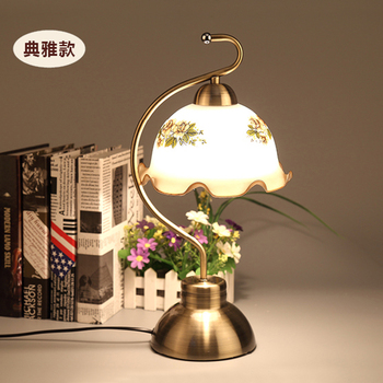 modern table lamp iron gold sitting room european style rural dimmer restoring ancient ways of bedroom