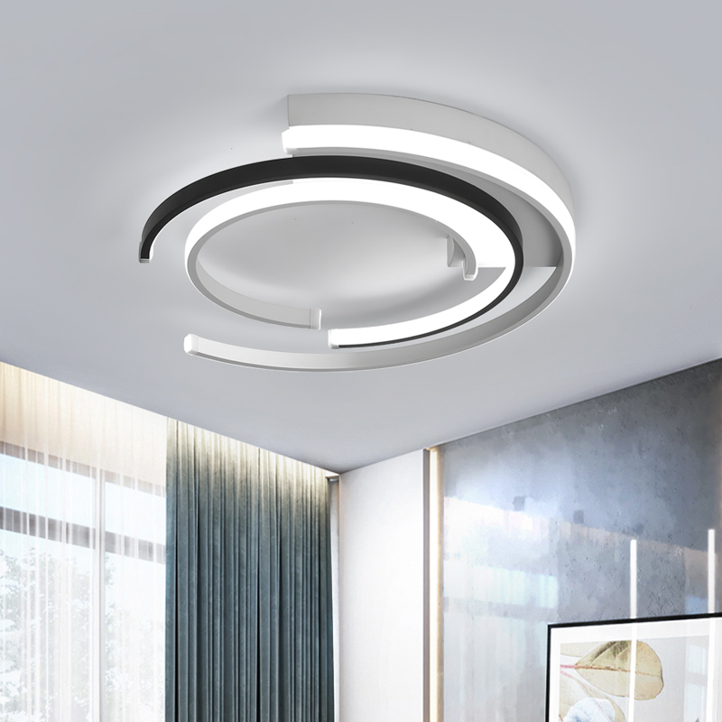 Image 5 - Modern LED Ceiling Lights Lamp for living room Bedroom AC85 265V lamparas de techo Modern LED Dimming Ceiling Lamp for bedroom-in Ceiling Lights from Lights & Lighting