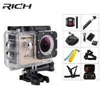 RICH F5R Action Camera Full HD WiFi 2 0 Screen 140D Go 30M Underwater Waterproof Mini