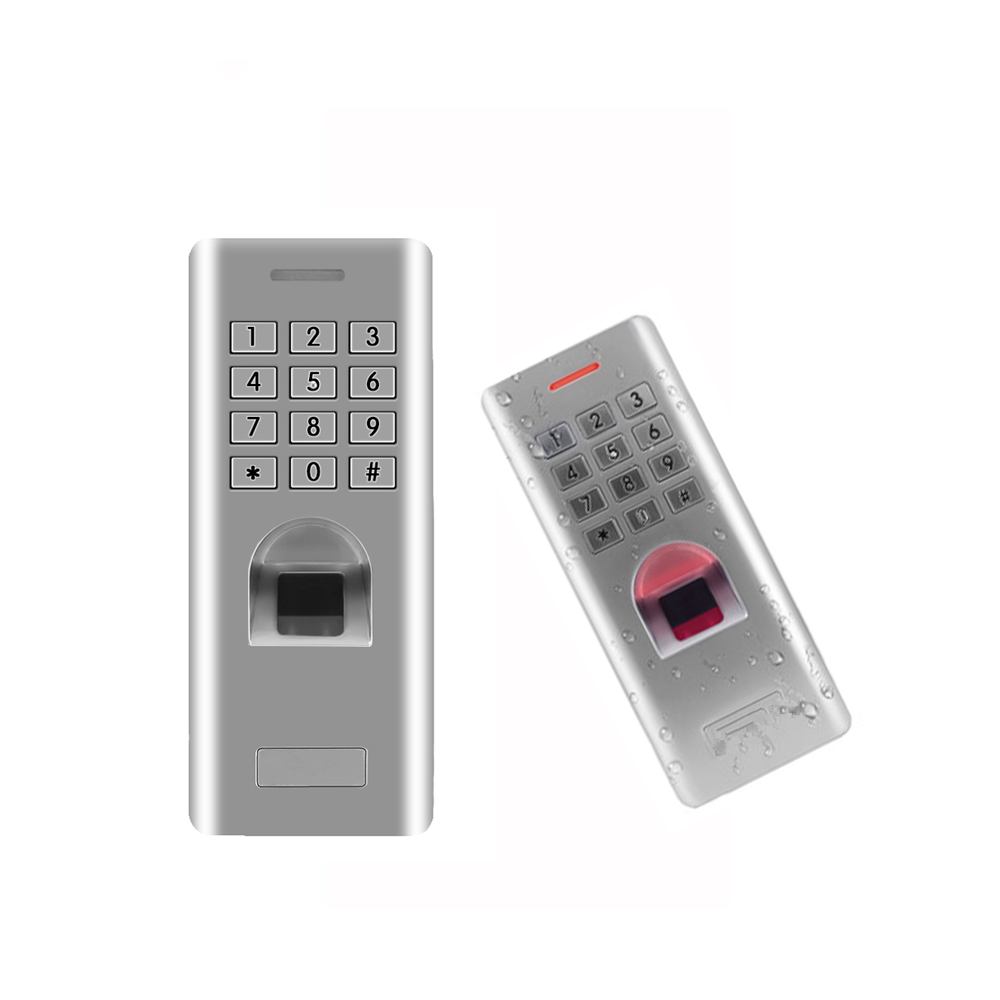 Image 5 - IP66 Outdoor WG26 Fingerprint password keypad access control reader for security door lock system gate opener use-in Fingerprint Recognition Device from Security & Protection