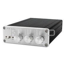 On sale TPA5613 Hifi 2.1 Bluetooth 4.0 Audio Amplifier 75W*2+150W Subwoofer Digital Audio Power Amplifier Aluminum Amplifier