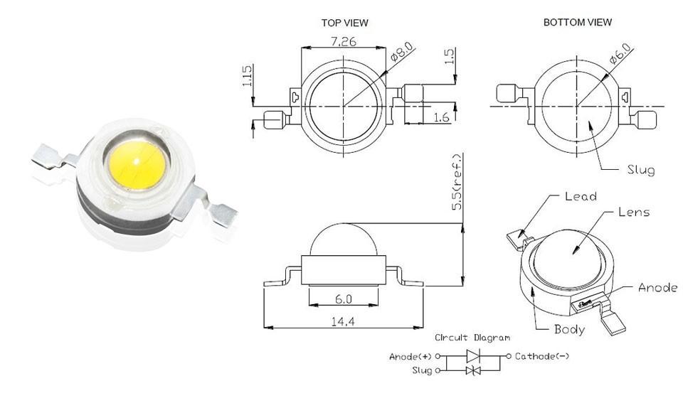 Лампочка 10 . 1 3 SMD 110/120lm 3 /18